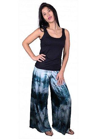 Calça Indiana Pantalona Tie Dye Pantanal