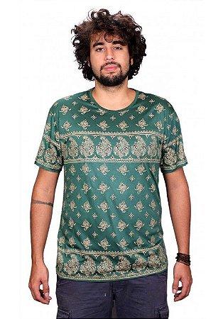 Camiseta Indiana Unissex Íris Verde
