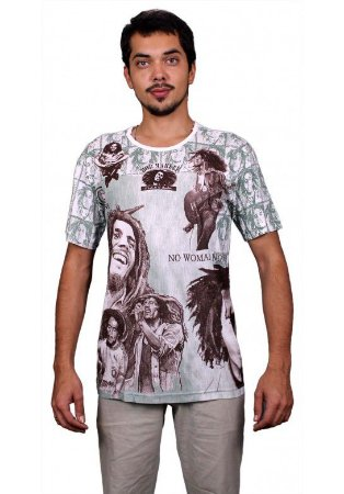 Camiseta Indiana Unissex Marley