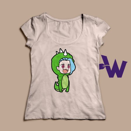 Camiseta Jinxnossaura Feminina