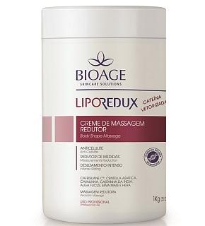 Lipo Redux Creme de Massagem Redutor com Cafeína Bioage 1Kg