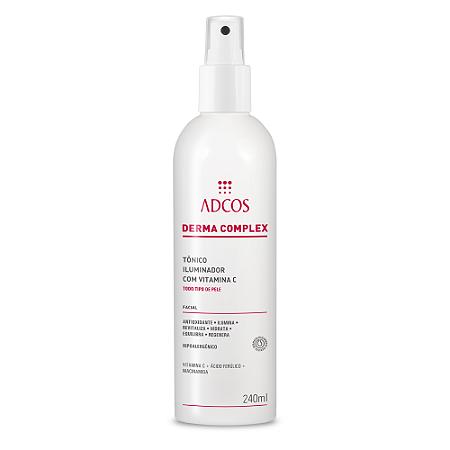 Derma Complex Tônico Iluminador com Vitamina C Adcos 240ml