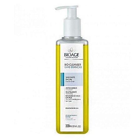 Bio-Cleanser Sabonete Líquido Uvas Brancas Bioage 300ml