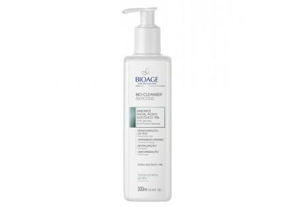 Bioage Bio-cleanser Glycolic 10% Sabonete Facial 300ml