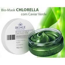 Bio Mask Chlorella com Caviar Verde Bioage 150g