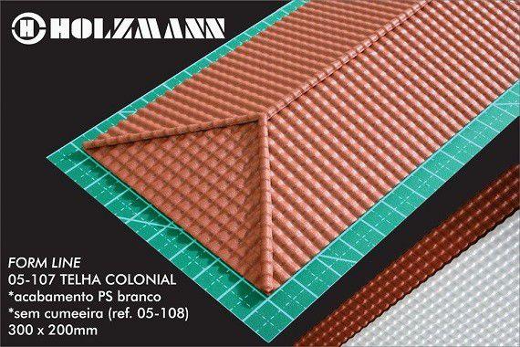 Telha Colonial - HOLZMANN - 05-107
