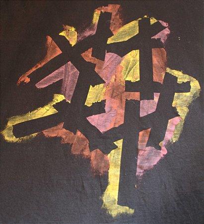 Camiseta Preta Unisex Structure