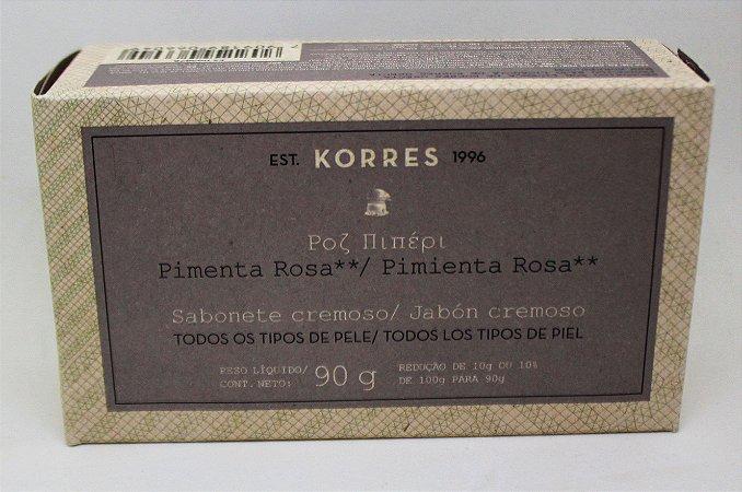 Sabonete Cremoso Pimenta Rosa - 90g