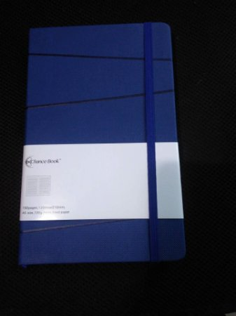 Journal Chance Book folhas pautadas azul *