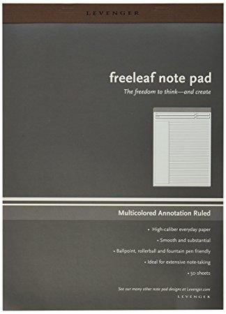 Bloco Levenger Freeleaf note pad A4 *