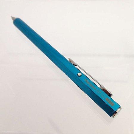 Caneta Ohto Horizon Azul Esferográfica