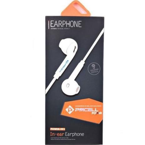 Fone de ouvido intra-auricular PMCELL FO-12 Preto