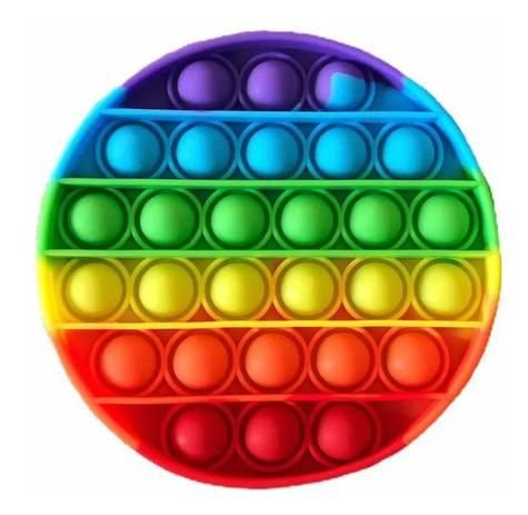 Pop It Fidget Toy Bolha Brinquedo Anti Stress Sensorial