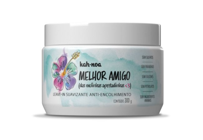 Leave In Kah Noa BFF Anti-Encolhimento No Poo 300g