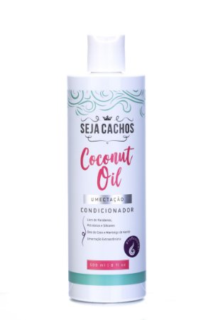 Condicionador Seja Cachos Coconut Oil 500ml