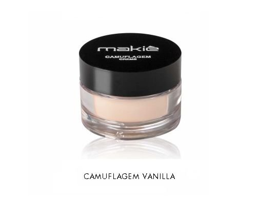 Camuflagem Creme Makiê Vanilla