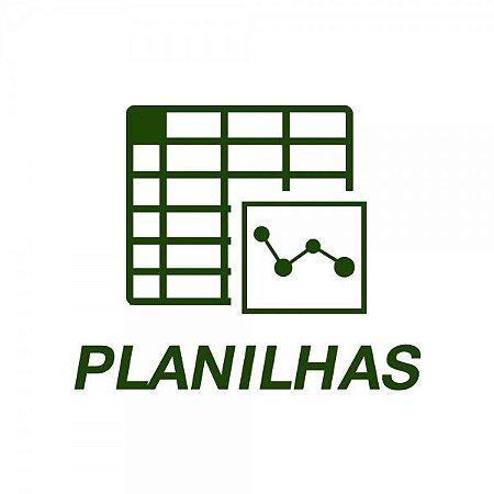 Planilhas: Periodização do Treinamento nos Esportes Coletivos