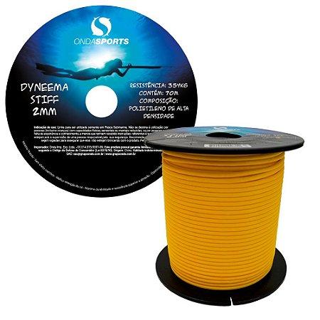 Linha Dyneema STIFF 2,0 mm (100% UHMWPE) Onda Sports (GOLD)