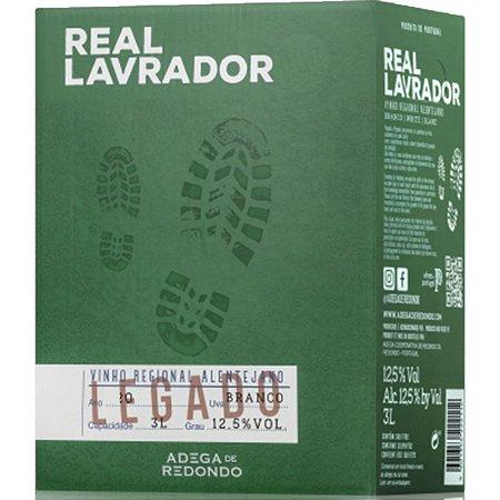 Vinho Real Lavrador Branco Bag In Box 3 Litros
