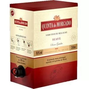 Vinho Quinta do Morgado Tinto Suave Bag in Box 3 Litros