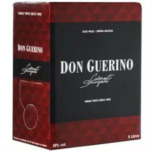 Vinho Don Guerino Cabernet Sauvignon Bag in Box 3L