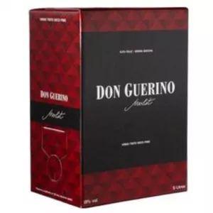 Vinho Don Guerino Merlot 3 Litros Bag in Box