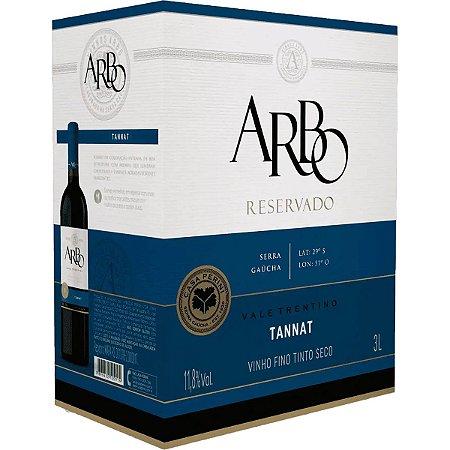 Vinho Arbo Tannat Bag in Box 3 Litros