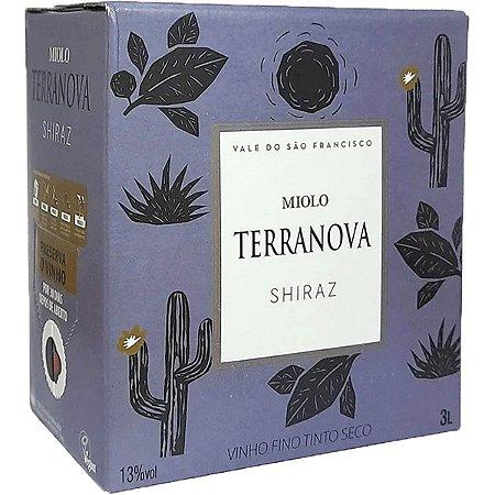 Vinho Terranova Shiraz Bag In Box 3 Litros
