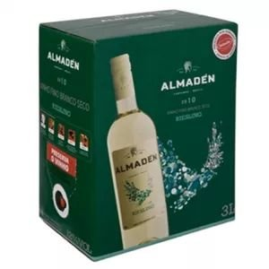 Vinho Almadén Riesling Bib 3 Litros