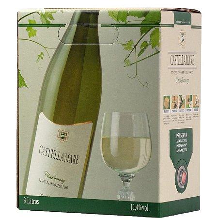 Vinho Castellamare Chardonnay Bag in Box 3 Litros