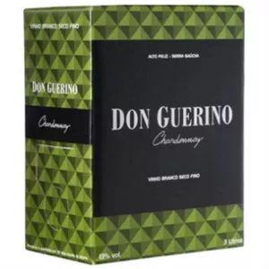 Vinho Don Guerino Chardonnay Bag in Box 3 Litros