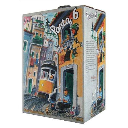 Vinho Porta 6 Tinto Meio Seco Bag in Box 3 Litros