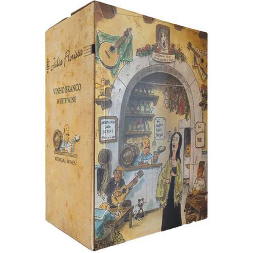 Vinho Julia Florista Branco 5 Litros Bag in Box