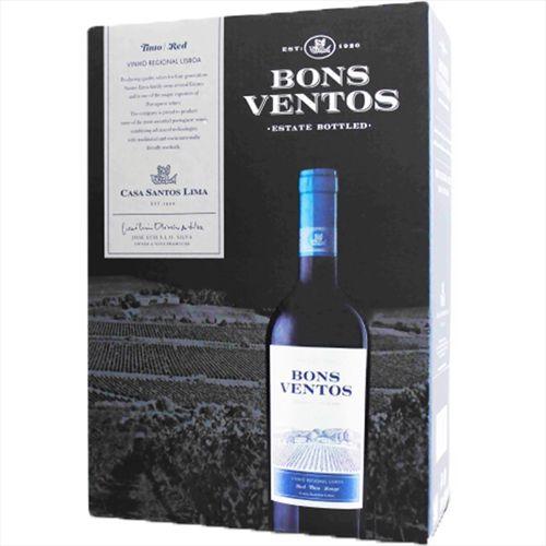 Vinho Bons Ventos Tinto Bag In Box 3 Litros