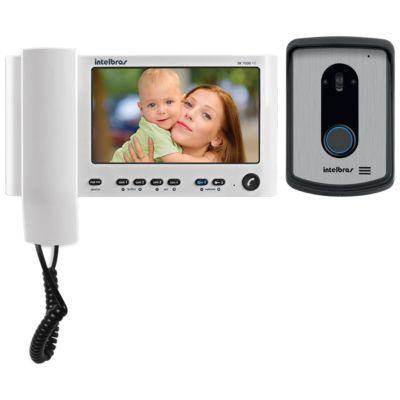 """VIDEO PORTEIRO IV 7010HS BRANCO, COM MONOFONE LCD, TELA 7"""" (Emb. contém 1un.) -INTELBRAS"""