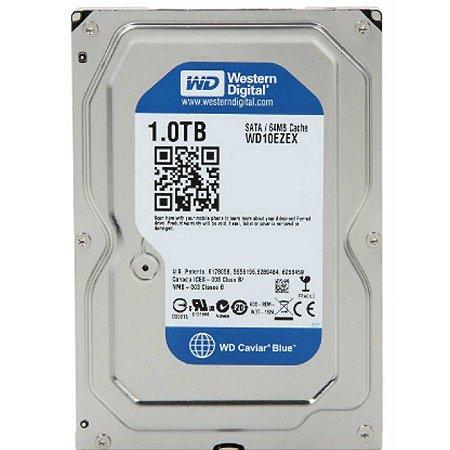 HD 1TB WD CAVIAR BLUE WD10EZEX 64MB 7200RPM SATA 3