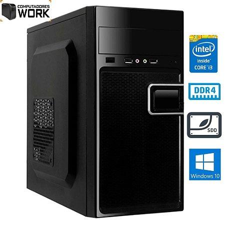 COMPUTADOR MK WORK INTEL I3 8100 4GB DDR4 HD 1TB GABINETE ATX 200W PRETO