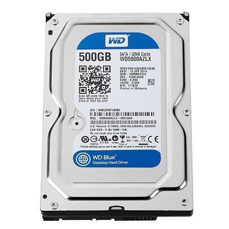 HD DESKTOP 500GB WD5000AZLX BLUE 7200RPM 32MB SATA 6