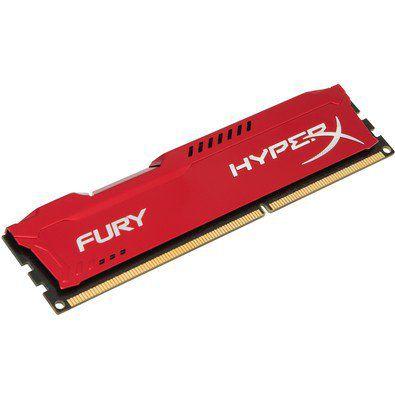 MEMORIA DESKTOP DDR3 4GB 1866 MHZ HX318C10FR/4 HYPER X FURY RED KINGSTON