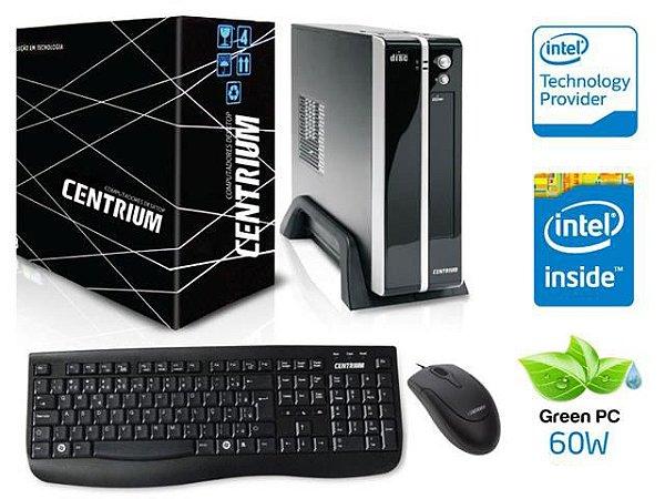 COMPUTADOR CENTRIUM THINLINE 3060 INTEL DUAL CORE J3060 4GB 500GB
