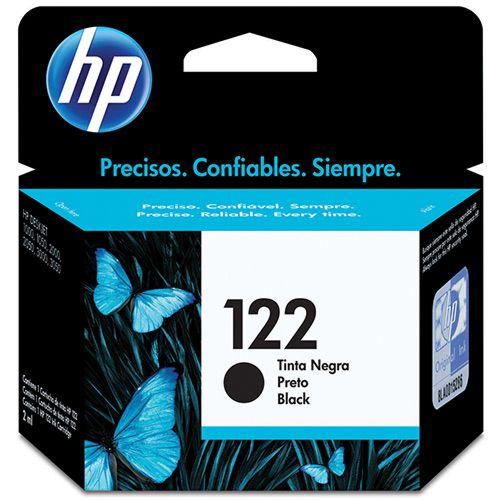 CARTUCHO ORIGINAL HP 122 CH561HB 2ML PRETO