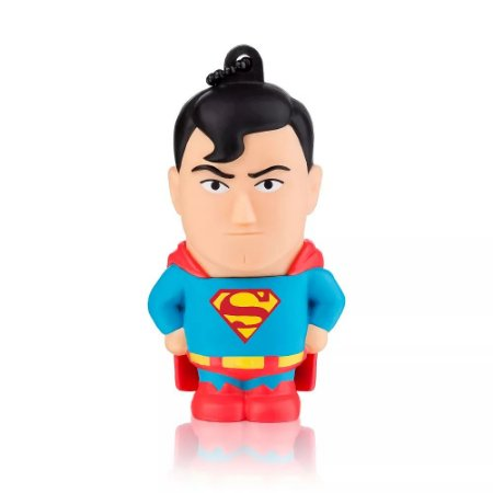 PEN DRIVE 8GB USB 2.0 MULTILASER DC COMICS SUPER HOMEM PD086