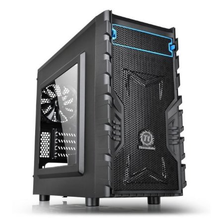 GABINETE GAMER THERMALTAKE VERSA H13 CA1D300S1WN00 WINDOW PRETO