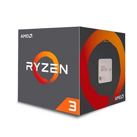 PROCESSADOR AMD RYZEN R3-1200 3.4GHZ 10MB AM4