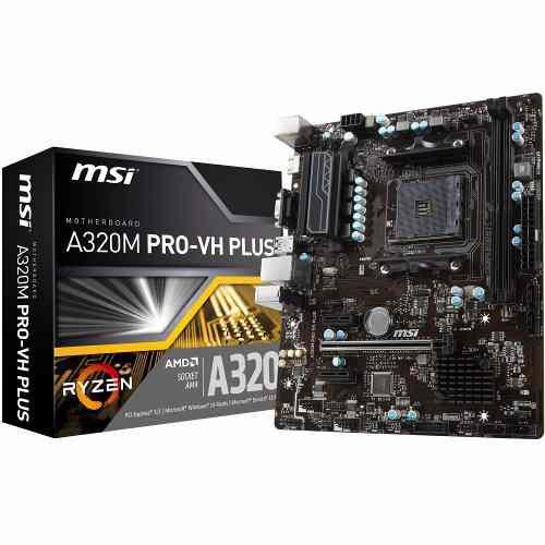 PLACA MAE MSI A320M PRO-VH PLUS DDR4 AM4 RYZEN