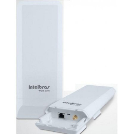 ROTEADOR WIRELESS INTELBRAS CPE 5GHZ 14DBI MIMO 2X2 WOM 5000 300MBPS