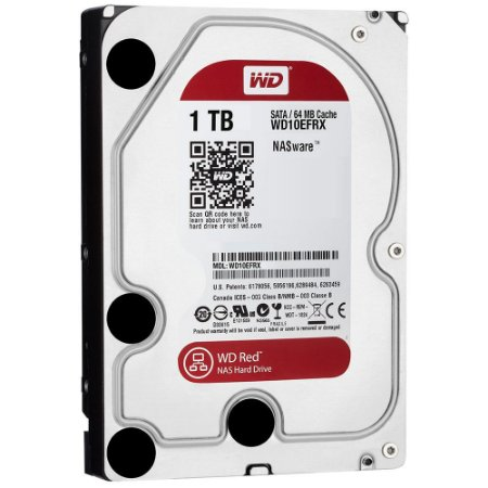 HD 1TB WD RED PARA SERVIDOR WD10EFRX 64MB SATA 6GBPS NAS