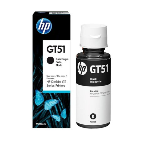 CARTUCHO ORIGINAL HP GT51 M0H57AL 90 ML PRETO