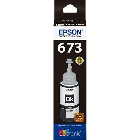CARTUCHO ORIGINAL EPSON T673120 PRETO L800