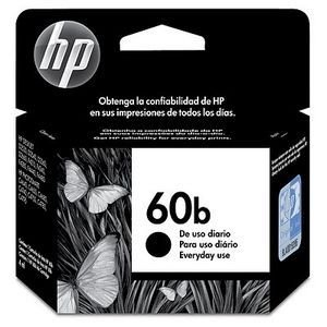 CARTUCHO ORIGINAL HP 60B CC636WB 4,5ML PRETO